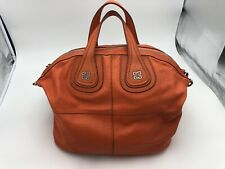 Givenchy Nightingale Large Leather Bag (Georgeous RARE ORANGE) Pre-Owned