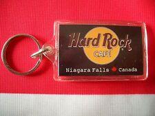 HRC Hard Rock Cafe Niagara Falls Canada Black Key Chain