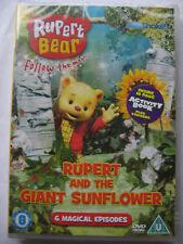 Rupert The Bear Vol. 3 - Rupert And The Giant Sunflower (DVD, 2008) NEW SEALED