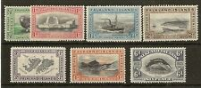 (D) Falklands 1933 Centenary SG127-133 Mint Cat£174 (7v)