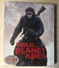 War For The Planet Of The Apes Blu ray Dvd Digital w slipcase Brand New