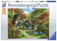 500 Teile Ravensburger Puzzle Cottage im Herbst 14792