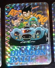 DRAGON BALL Z DBZ COVERS COLLECTION CARDDASS CARD PRISM CARTE BIRD BRAVO CC08