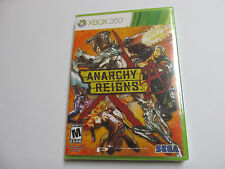 ANARCHY REIGNS Xbox 360 game new sealed SEGA, global shipping