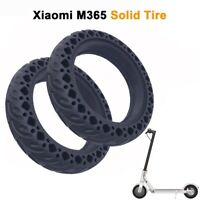 2Pcs Rubber Solid Tire for Xiaomi Mijia M365/Ninebot 8.5 Inch Electric Scoo J8A8