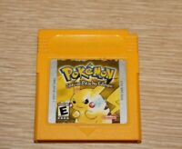 POKEMON Pikachu Yellow - Nintendo Game Boy Game Authentic SAVES TESTED WORKS