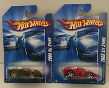 Hotwheels 2008 All Stars Tooned Enzo Ferrari Color Variations Red & Black