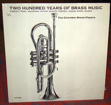 200 Years of Brass Music, Chamber Brass Players, Classic Editions LP CD 1039