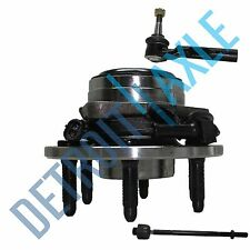 NEW 3pc Kit: Front Wheel Hub & Bearing Assembly + 1 Outer + 1 Inner Tie Rod 2WD
