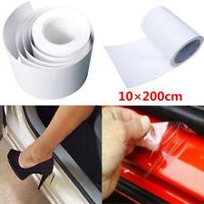 Universal 200cm Clear Film Vinyl Car Door Sill/Edge Paint Protector Anti-Scratch