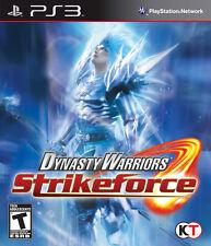 Dynasty Warriors: Strikeforce (Sony PlayStation 3, 2010)