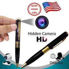 Bolígrafo Espía tipo Camara HD DVR para usar con Memoria MicroSD