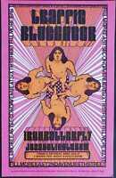 Traffic Concert Poster 1968 Blue Cheer Fillmore East