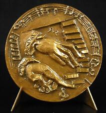 Médaille François Couperin Le Grand compositeur organiste, music composer medal