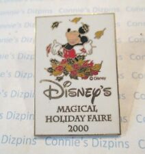 DISNEY'S HOLIDAY FAIRE 2000 Mickey Mouse - WALT DISNEY BURBANK STUDIO EVENT Pin