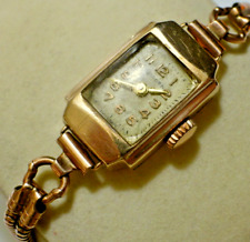 Unicorn Ladies Watch - 9ct Gold - 1930s by Rolex 15J
