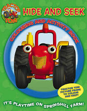 Hide and Seek Colouring and Activity Book: Tractor Tom