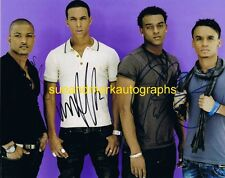 JLS Aston Merrygold Oritsé Williams J. Gill Marvin Humes Autograph UACC RD 96