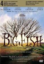 Big Fish (DVD) Bilingual  FREE SHIPPING IN CANADA