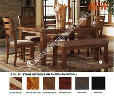 Modern Wooden Dining table with  6 chair set !