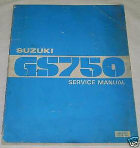 Gs750 Motorcycle Repair Manuals Literature For Sale Ebay