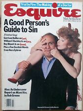 ESQUIRE JUL 1986 US DANNY DeVITO ANITA MORRIS GARRISON KEILLOR ON LUST MIAMI VIC