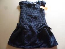 Gymboree Holiday Shine Blue Sparkle Dot Bow Dress Christmas Formal 4 5 6 7 8 NEW