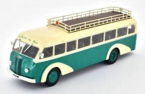 IXO/HACHETTE 1/43 PANHARD MOVIC LE 24 BUS/COACH GREEN/CREAM FRANCE 1948-1953