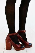 Jeffrey Campbell Rothes Ankle Strap Heel Size 9 MSRP: $130 New Women Leather
