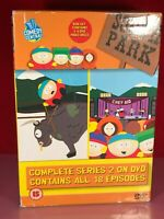 Complete Series 2 of South Park DVDs 4 Discs All 18 Episodes
