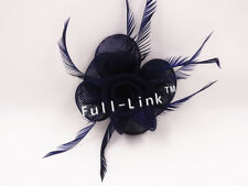 Feather Flower Headband Fascinator Weddings Ladies Day Race Royal Ascot SF7030