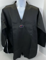 Redox 170 Size 4 Black Uniform Taekwondo Approved Martial Arts