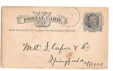 UX5 HInsdale NH Fancy Cork Cancel Keg Beer Order by P. P. Woodbury 1880