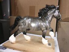 Resin Model Horse Grulla Brindle Draft Horse Andre Resin =)