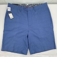 "Daniel Cremieux Madison Stretch Blue Men's Shorts NWT $65 Size 34 9"" Inseam NEW"