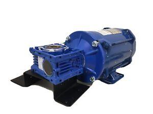 Bluffton 1121007441 1/2HP 115Vac 1725RPM Gear Reducer 25:1 Explosion Proof #8136