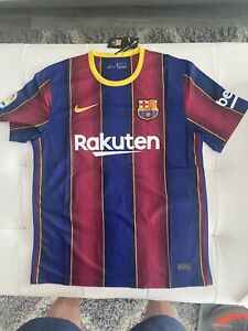 FC Barcelona Home Jersey 2020/2021 Messi #10 La Liga  L
