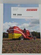 GRIMME SE 260 2-reihige Kartoffelvollernter Prospekt von 12/2016 ( 10096 )