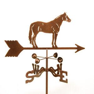 Quarter Horse - Equestrian Quarterhorse Weathervane, Complete w/ Choice of Mount