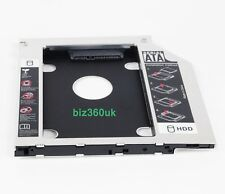 2nd HDD SSD Hard Drive Caddy Adapter Tray for Dell Latitude E6540 E6430s