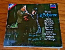 BRAND NEW SEALED Puccini: La Boheme (CD, Jul-1987, 2 Discs, London)