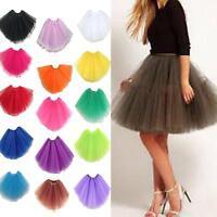 Women/Adult Fancy Dancewear Tutu Pettiskirt Princess Shirt Skirts Mini Dress