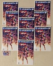 LOT OF 1O HARLEY QUINN #1 DC REBIRTH Color Variant Only 3000 Copies Made VF/NM