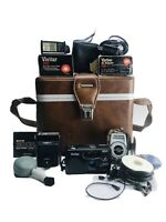 Vivitar Camera Flash Accessories Carrying Case Light Meter Bundle
