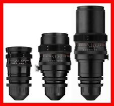 @ THREE Lens SET Carl Zeiss Jena 120mm 180mm 300mm w/ ARRI Arriflex PL Mount @