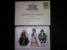 """Dept 56 """"Alpine Villagers"""" Alpine Village Series #6542-0, Retired New In Box"""