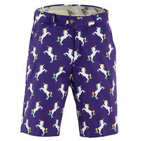 Stallion Strides Golf Shorts by Royal and Awesome Funky & Loud Waist 30 - 44 NEW