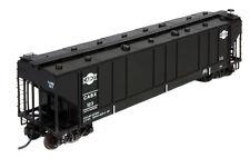 Rail Shop Carbon Black Car Kit HO CABOT Late  Bob The Train Guy