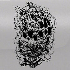 Demon Flame Skull Graphic Tailgate Hood Window Decal Vehicle Truck Vinyl Pickup