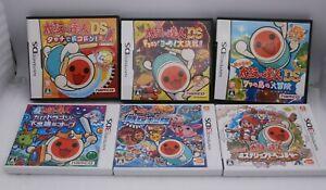 DS 3DS Taiko no Tatsujin 6Games Dororon Dokodon Chibi Dragon Dontokatsu Japan